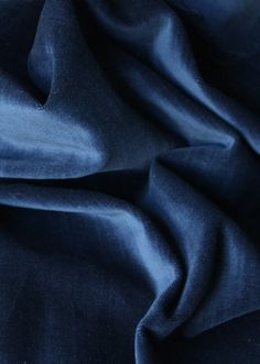 "Velvet fabric for curtains; color is named ""indigo"". This is Ben's favorite. He is hooked on the idea of ""movie theatre curtains""."