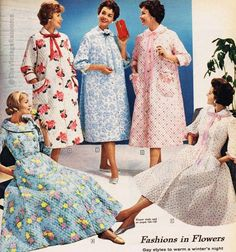 quilted robes - Sears 1958
