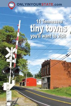 Travel | Tennessee | Tiny Towns | Small Towns | Places To Visit