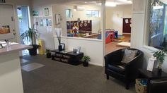 Welcome to Edukids Styx Mill's reception Beautiful Space, Corner Desk, Reception, Spaces, Furniture, Home Decor, Homemade Home Decor, Corner Table, Home Furnishings