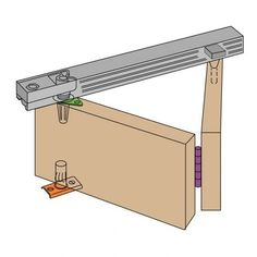 Henderson Bi-Fold sliding / folding door kit | DIY | Pinterest ...
