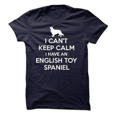 English Toy Spaniel K01 T-Shirts, Hoodies ==►► Click Image to Shopping NOW!