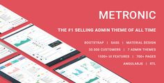 Metronic v4.5.4  Responsive Admin Dashboard Template
