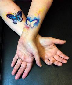 Mother daughter tattoos design ideas 6
