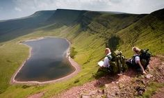 Llyn y Fan Fach, Brecon Beacons National Park, Powys, Wales in 20 great UK walks with #pubs, chosen by nature writers
