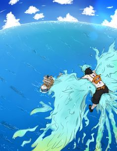 Portgas D. Ace and Marco the Phoenix #one piece | One Piece ...