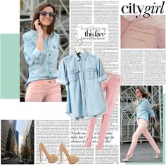 City Girl by hcochingco on Polyvore