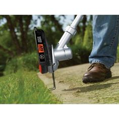 Cordless straight shaft string trimmer lst136 at the home depot