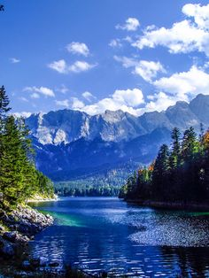 Eibsee, Bavaria, Germany