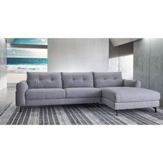 Available in 3 of our exclusive Nick Scali fabrics, with black feet and button detailing, this lounge adds a modern, understated look to your home. Nick Scali, Couches, Lounge, Modern, Furniture, Home Decor, Airport Lounge, Drawing Rooms, Trendy Tree