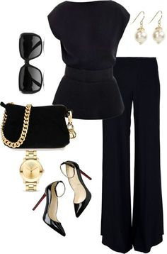 18 schwarze Outfits um deine Looks zu knallen – Women Outfit Ideas Mode Outfits, Fashion Outfits, Womens Fashion, Fashion Trends, Woman Outfits, Female Outfits, Ladies Fashion, Fashion Clothes, Sport Outfits