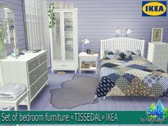 "The Sims 4 Mody: Sypialnia ""Tissedal "" Ikea od Natatanec"