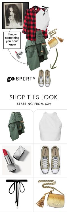 """""""I have to Speak the TRUTH!"""" by edenslove ❤ liked on Polyvore featuring Faith Connexion, Burberry, Joomi Lim and Gucci"""