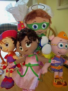 super why party. We already have Whyatt and Princess Presto, now we've got to find Alpha Pig and Wonder Red!