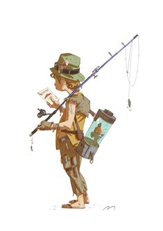 Character sketches, Mauro Belfiore on ArtStation at https://www.artstation.com/artwork/xGVKO