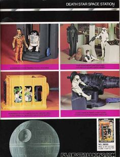 Death Star Play Set by kenner