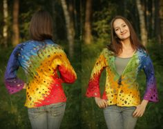 After the rain / Felted Clothing / Jacket