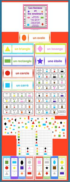 24 best French - Shapes and Solids images on Pinterest Learn