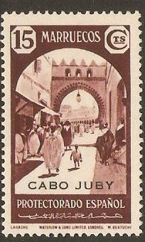 Cape Juby 1939 15c Maroon. SG107. - Click Image to Close