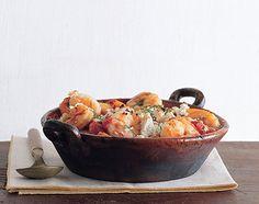 Greek-Spiced Baked Shrimp