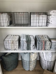 Simply Done: The Most Beautiful - and Organized! - Linen Closet #clutterstorage