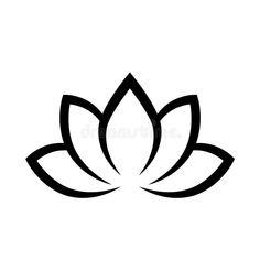 Simple Lotus Tattoo, Lotus Tattoo Design, Lotus Design, Lotus Drawing, Lotus Vector, Yoga Symbols, Taurus Tattoos, Yoga Decor, Background For Photography