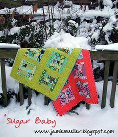 Sugar Baby quilt - http://www.modabakeshop.com/2011/03/sugar-baby-quilt.html#more