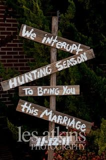 Wedding sign #Country #Wedding … Wedding ideas for brides, grooms, parents & planners itunes.apple.com/... … ...