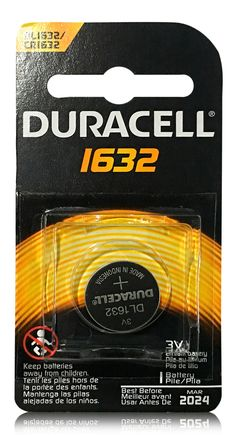 Duracell Silver Lithium Coin Battery 1632  #buythecase