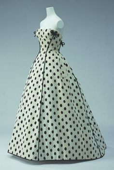 Vintage polka dots...
