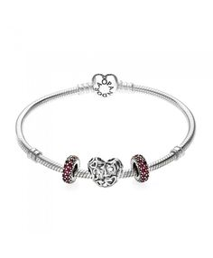 PANDORA Sparkling Mum Red Gift Bracelet Give your mother the best holiday gift, welcome to pick. Mom Jewelry, Jewelry Gifts, Jewellery, Gifts For Mom, Holiday Gifts, Jewelry Collection, Best Gifts, Pandora, Sparkle