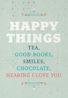 Happy Things Print