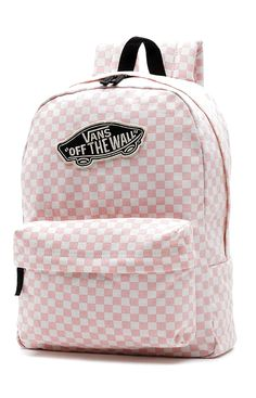 Vans Womens, Checkerboard Backpack - Peach Skin - Apparel - MOOSE Limited Source by mooselimited Bags Pretty Backpacks, Cute Backpacks For School, Cute Mini Backpacks, Girl Backpacks, Leather Backpacks, Leather Bags, Vans School Bags, Vans Bags, School Bags For Girls