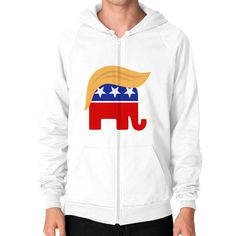 Donald Trump Elephant for President 2016. Like him or hate him, this is cute.