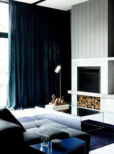 Incluso la chimenea es minimalista. | Galería de fotos 2 de 11 | AD MX