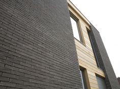 Colour Leto Zero Project: Meerheim, Bilzen (BE) Grey Brick, Brick And Stone, Brick Colors, Brick Patterns, Park Homes, Brick Wall, Home Builders, Home Deco, Ramen