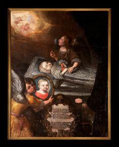 Totenbildnis der Prinzessin Magdalena Sybilla von Sachsen-Zeitz (1672-1672)  [Museum Schloss Moritzburg Zeitz]