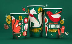 Panera Holiday 2013 by Willoughby Design, via Behance