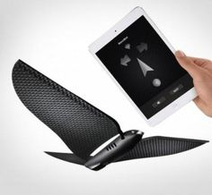 Bionic Bird Controlled From Your Smart Phone - http://www.gadgets-magazine.com/bionic-bird-controlled-smart-phone/