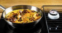 Trinn 4 Chorizo, Meat, Chicken, Recipes, Food, Meals, Yemek, Recipies, Eten