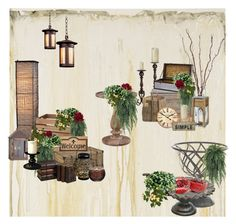 Rustic ceremony by jenny-drossou on Polyvore featuring art and rustic