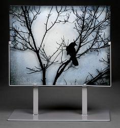 "New photo of ""Blackbird"".  Original photo credit:  Edward Rhys.  http://TurtleBayGlass.com"