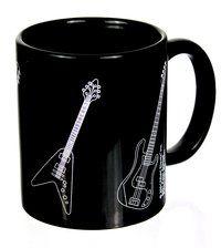 Tasse E-Gitarren ♫♪ ☕ www.musiker-geschenke.com/Tassen