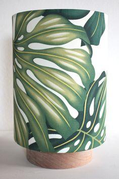 monstera leaf table lamp van homeworksdesignstore op Etsy