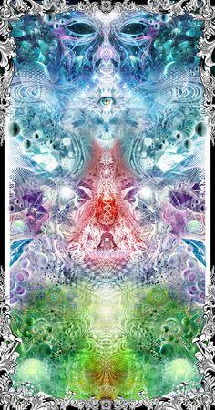 Justin Totemical - Ascension #ravenectar #visionaryart #art #trippy #psychedelic #sacred