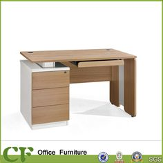 China Wooden Home Furniture Office Computer Table Desk, Find details about China Computer Desk, Computer Table from Wooden Home Furniture Office Computer Table Desk - Guangzhou ChuangFan Office Furniture Factory Computer Desk Design, Office Table Design, Pc Desk, Office Computer Desk, Office Furniture Design, Home Furniture, Computer Tables, Gaming Computer, Pc Table