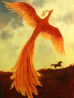 """Ruth Sanderson - The Golden Mare, the Firebird, and the Magic Ring Сказка """"Жар-птица"""""""