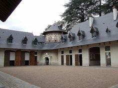 le Château de Chaumont (Loir-et-Cher) - Centre. - Les écuries