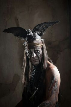 Johnny Depp gives another outlandish performance in The Lone Ranger.