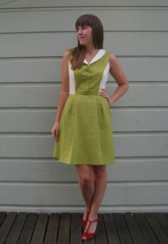 Diner-style dress by 'all dressed up and nowhere to go' http://nattyjanesews.blogspot.co.uk/